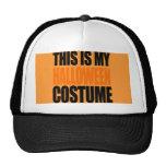 THIS IS MY HALLOWEEN COSTUME (orange)