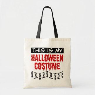 This is My Halloween Costume Spiders Bats Tote Bag