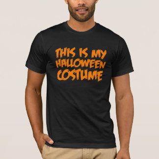 This is my halloween costume. T-Shirt