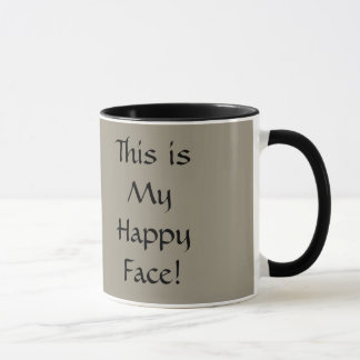 This is My Happy Face! Mug