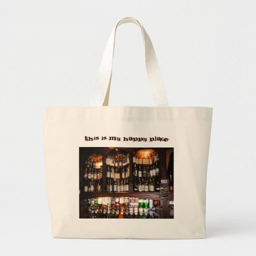 This is my Happy Place Tote Bags