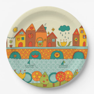 This is my Home Paper Plate