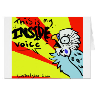 This Is My Inside Voice Card