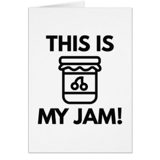 This Is My Jam! Card