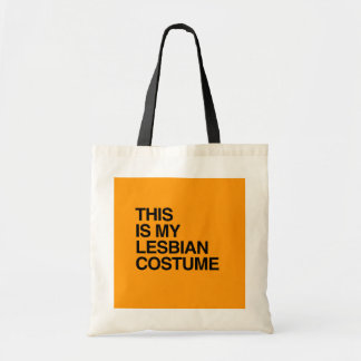 THIS IS MY LESBIAN HALLOWEEN COSTUME - Halloween - Canvas Bags
