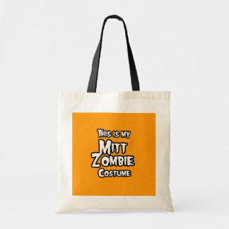 THIS IS MY MITT ZOMBIE COSTUME - Halloween - png Canvas Bag