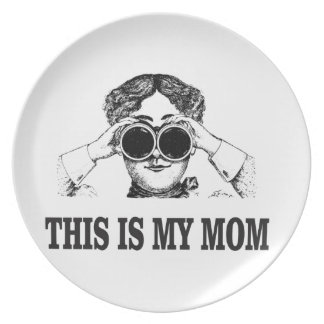 this is my mom plate