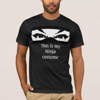 This is my Ninja costume T-Shirt