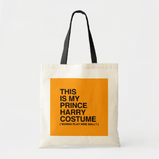 THIS IS MY PRINCE HARRY COSTUME - Halloween - png Canvas Bag