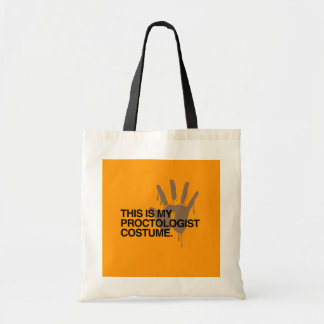 THIS IS MY PROCTOLOGIST COSTUME - - Halloween - pn Tote Bags