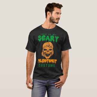This Is My Scary Phlebotomist Costume Tshirt