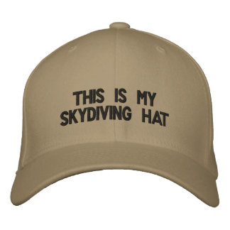 This is my skydiving hat