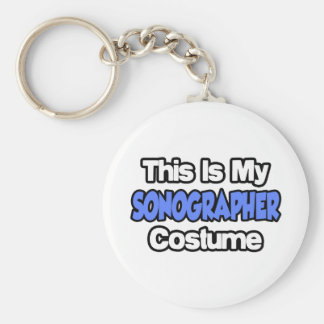 This Is My Sonographer Costume Keychain