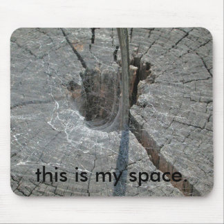 this is my space. mouse mats