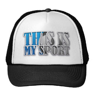This is my sport de soccer football casquette