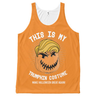 This is my Trumpkin Costume - Make Halloween Great All-Over-Print Tank Top