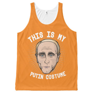 This is my Vladimir Putin Costume - Political Hall All-Over-Print Tank Top