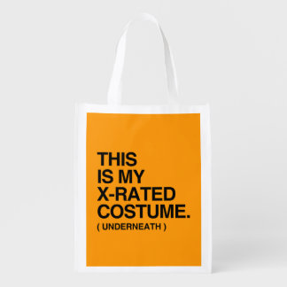 THIS IS MY X-RATED COSTUME - Halloween - png Market Totes