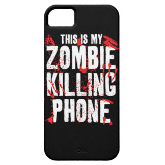 This is my Zombie killing Phone keep calm and kill iPhone 5 Cover