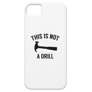 This Is Not A Drill iPhone 5 Covers