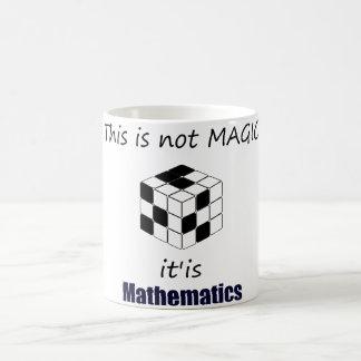 this IS not magic IS mathematics mug