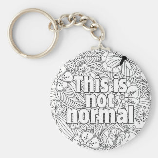 this is not normal keychain