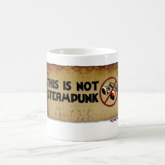 This Is Not Steampunk Basic White Mug