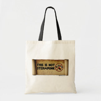 This Is Not Steampunk Budget Tote Bag