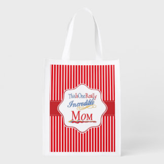 This Is One Really Incredible Mom Gift Collection Reusable Grocery Bag