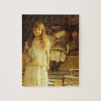 This is Our Corner by Sir Lawrence Alma Tadema Jigsaw Puzzle