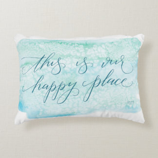 This is our happy place - pillow