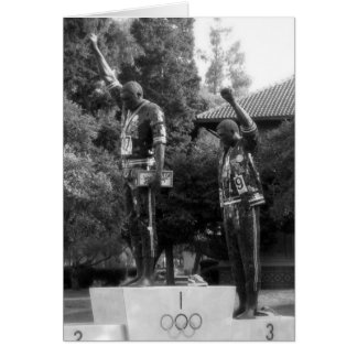 This is San Jose CA: Tommie Smith and John Carlos Card