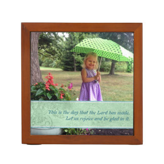 This Is the Day Custom Bible Verse and Picture Pencil/Pen Holder