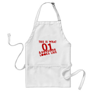 This Is What 01 & Awesome Look s Like Standard Apron