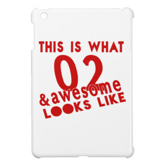 This Is What 02 & Awesome Look s Like iPad Mini Cover
