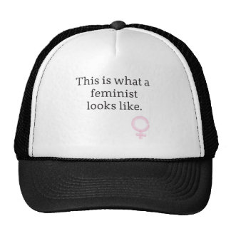 This is what a feminist looks like. trucker hat