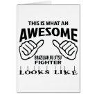 This is what an awesome Brazilian Jiu Jitsu Fighte Card