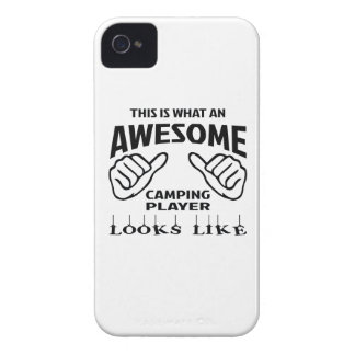 This is what an awesome Camping player looks like Case-Mate iPhone 4 Cases