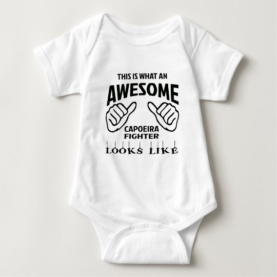 This is what an awesome Capoeira Fighter looks lik Baby Bodysuit