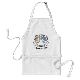 This Is What An Awesome Gay Dad Looks Like Standard Apron