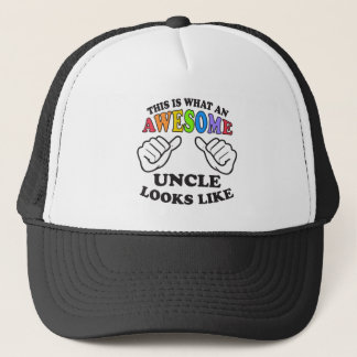 This Is What An Awesome Gay Uncle Looks Like Trucker Hat