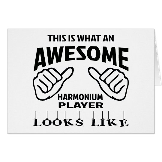 This is what an awesome Harmonium player looks lik Card