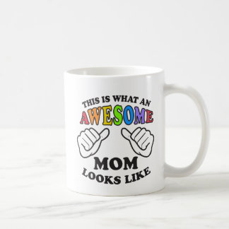 This Is What An Awesome Lesbian Mom Looks Like Coffee Mug