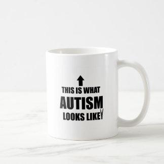 This is what autism looks like! coffee mug