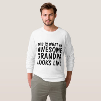 THIS IS WHAT AWESOME GRANDPA LOOKS LIKE T-shirts