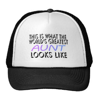 This Is What The World s Greatest Aunt 2 Mesh Hats