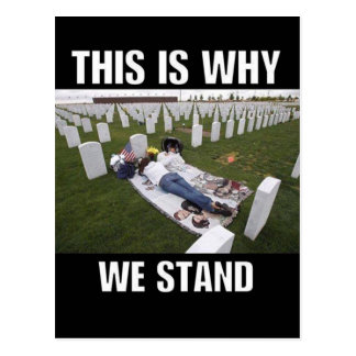 THIS IS WHY WE STAND POSTCARD