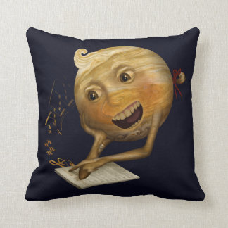 This Jupiter learning to sing Throw Pillow