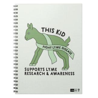 This Kid Fights Lyme Disease Notebook
