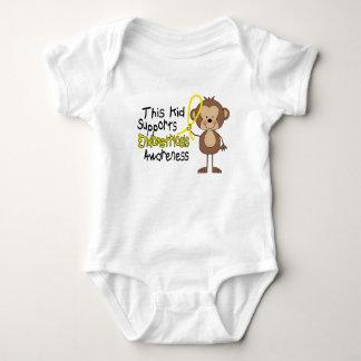 This Kid Supports Endometriosis Awareness Baby Bodysuit